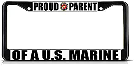 PROUD NORWEGIAN AMERICAN Chrome NORWAY FLAG PRIDE Metal License Plate Frame Tag