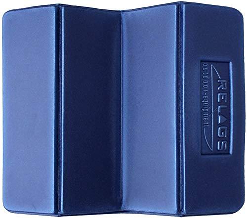 5 Stück Relags Falt-Sitzkissen - 28 x 35 cm - blau