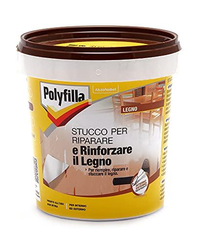 Polyfilla 5096598 Stucco per Riparare E RINFORZARE Il Legno Pasta 1 kg