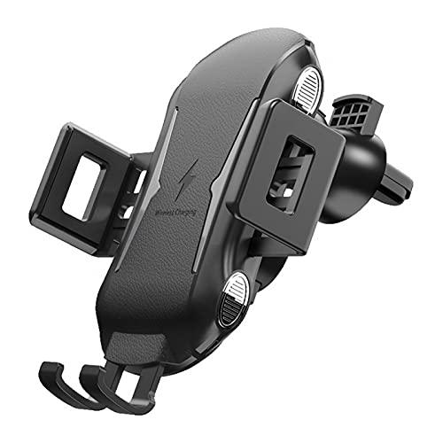 FDKJOK Cargador inalámbrico para coche, ventosa magnética y soporte para teléfono de coche QC2.0/3.0