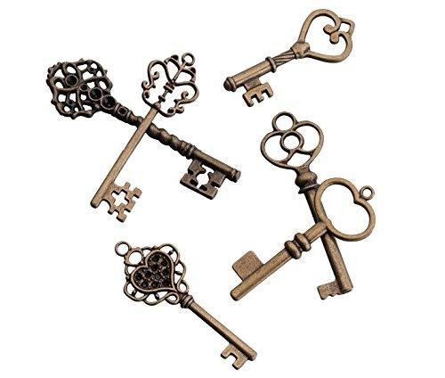Lillian Rose Wedding Guest Vintage Bronze Key Favors