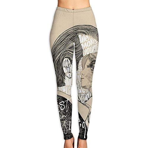 peitie104 Yoga-Hose Mature Men's Illustration Women's High Waist Yoga Pants Workout Gym Running Fitness Leggings Pants Caparis