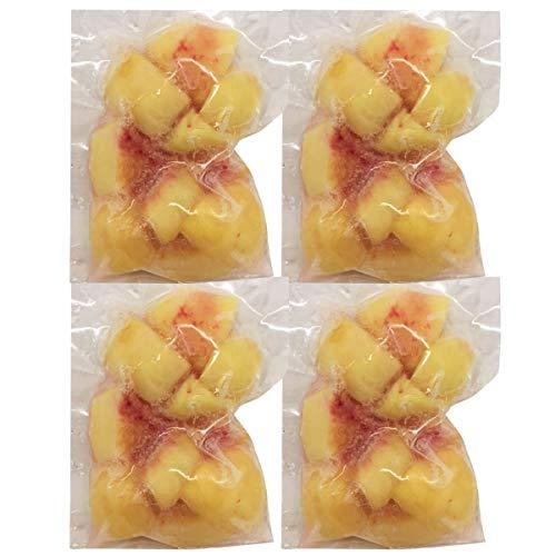 NORUCA 国産 冷凍桃 250g×4 桃 フルーツ 冷凍 もも 国内産 カットフルーツ