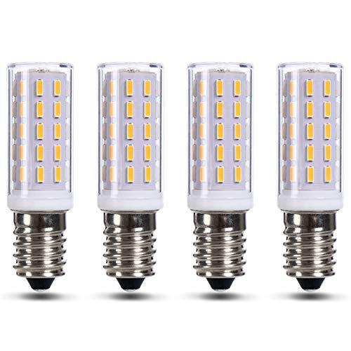 JAUHOFOGEI Glühbirne E14 LED Warmweiss für Dunstabzugshaube, LED Leuchtmittel 3 watt ersetz 40W Halogen Glühlampe, Kühlschranklampe, Nähmaschinenlampe, Nicht dimmbar, 4 Stück