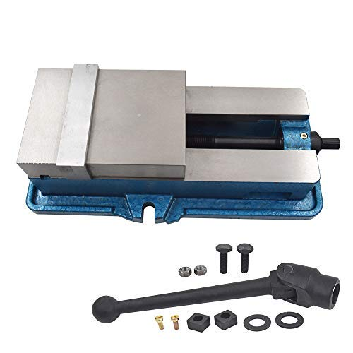 New 3' x 2.95' Precision Mill Vise Without Base for Milling Shaping and Drilling Machines