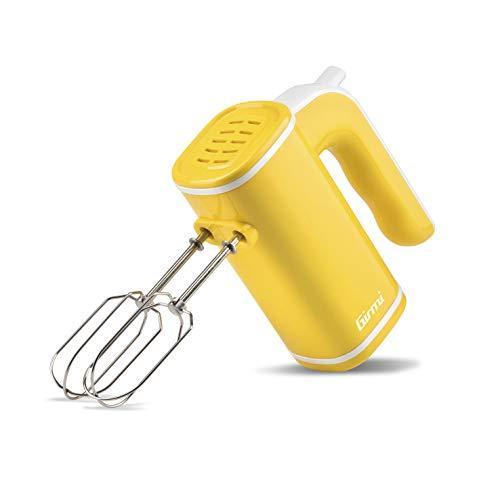 Girmi SB03 - Batidora eléctrica, 150 W, plástico, 5 velocidades, color amarillo