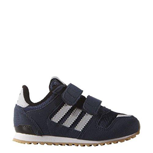 Adidas Baby Jungen ZX 700 CF I Sneaker, Azul / Blanco  (Maruni / Grpulg / Ftwbla), 22 EU