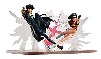 Megahouse Cowboy Bebop  Spike Spiegel & Faye Valentine 1st Gig PVC Figure Set Multicolor