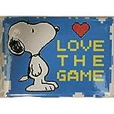 スヌーピーミュージアム Snoopy's Home Ice Santa Rosa,California限定マグネット LOVE THE GAME柄シュルツミュージアム サンタローザ(並行輸入品)