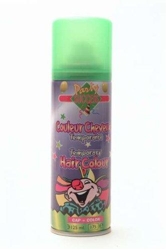 Bombe Laque à cheveux fluo couleur vert - 125 ml