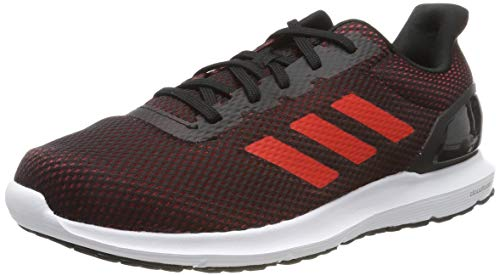 adidas Cosmic 2, Zapatillas de Running Hombre, Negro (Core Black/Active Red/Core Black Core Black/Active Red/Core Black), 50 2/3 EU