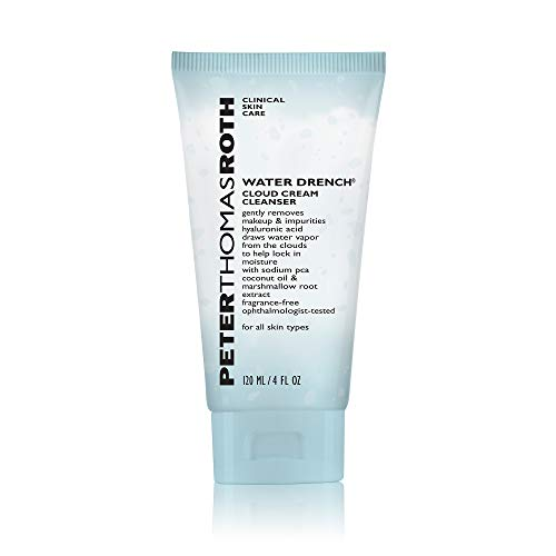 Peter Thomas Roth Peter Thomas Roth Water Drench Cloud Cream Cleanser, 4 Fluid Ounce Tapones para los oídos 2 Centimeters Negro (Black)