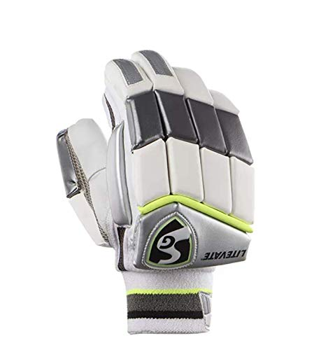 SG Litevate Cricket Batting Gloves Mens Size Right and Left Handed(Color May Vary)