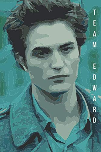 Team Edward: A Dotted Twilight Edward Cullen Watercolor Drawing Notebook Gift Journal