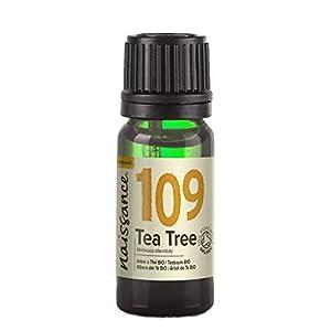 Naissance Aceite Esencial de Árbol de Té BIO n. º 109 – 10ml - 100% Puro, vegano, certificado ecológico y no OGM