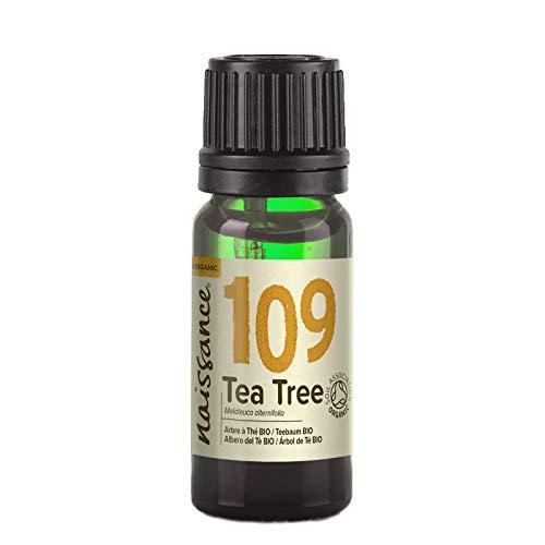 Naissance Aceite Esencial de Árbol de Te BIO n. º 109 – 10ml - 100% Puro, vegano, certificado ecologico y no OGM