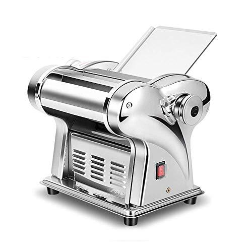 Macchina della pasta elettrica della macchina della pasta Macchina per la pasta dell acciaio inossidabile della macchina della macchina per la lasagne casalinga Tagliolini Rullo integrato con 2 lame 2