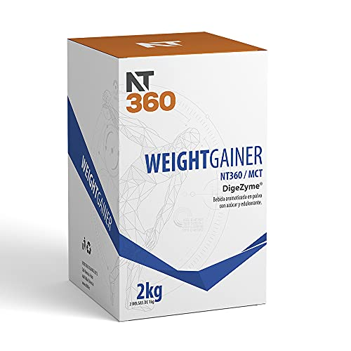 WEIGHT GAINER NT360 2Kg (Fresa, 2Kg)