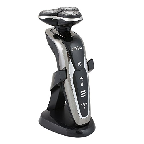 Best Electric Razor for Men by JTrim 3DFLEX Wet Dry Cordless Rotary Shavers