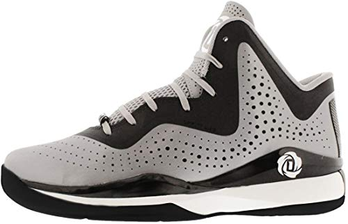 adidas D Rose 773 III Mens Basketball Shoe 7 White-Black