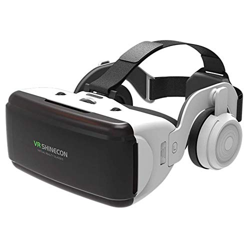 Fantastic Prices! VR Headset Stereo Headphones, Universal Virtual Reality Goggles, HiFi Headset 3D V...