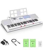 カシオ(CASIO) 光ナビゲーションキーボード LK-515 61鍵盤 鍵盤が光る 初心者でも簡単 楽譜が読めなくても弾ける 人気の200曲内蔵 アプリで曲が増やせる