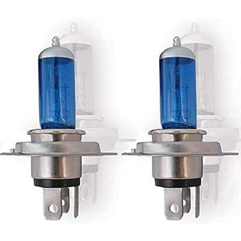 OCTANE LIGHTING 6 Volt Super White Halogen Headlight Headlamp Light Lamp Bulb 35/35W H4 6V Pair