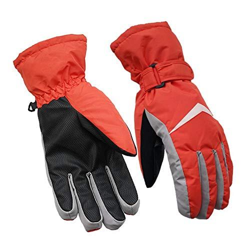 Para esquiar de invierno. Invierno Guantes de esquí para nieve Unisex Guantes impermeables a prueba de viento Guantes de snowboard para senderismo Escalada Esquí Montar moto de nieve Guantes de esquí