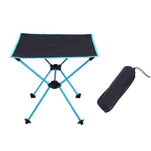 A-Qnice Tables de Pique-Nique de Camping Pliables - Table Pliante compacte, Portable et compacte dans Un Sac - Petite, légère et Facile à Transporter pour Le Camping, la Plage et l'extérieur (Taille: