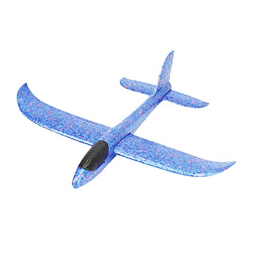 Tomaibaby 1PC Foam Glider Airplane 39 inch Large Throwing Glider Planes Lightweight Outdoor Flying Glider Airplane Toys for Girls Boys Party Favor or Gift