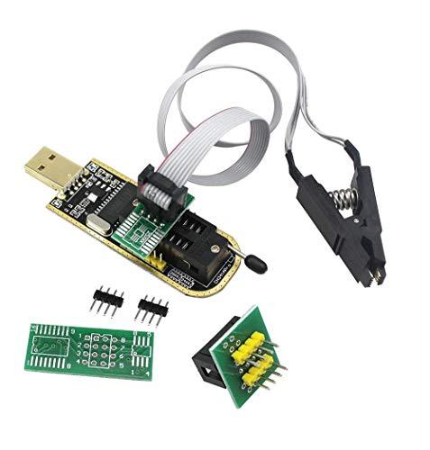 DollaTek sop8 soic8 testclip für eeprom 25cxx / 24cxx + ch341a 24 25 serie eeprom flash bios usb programmierer
