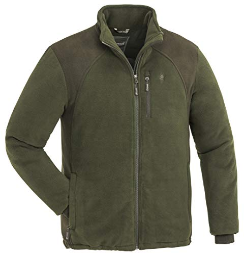 Pinewood Harrie Fleecejacke Herren Green/suedebrown Größe L 2019 Funktionsjacke