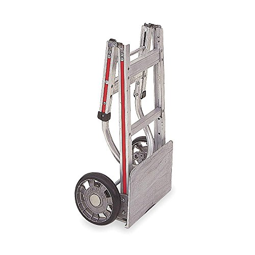Magliner - FTA19E11L - Folding Hand Truck, Continuous Frame Flow-Back, 500 lb., Overall Width 18-1/2, Overall Height 49