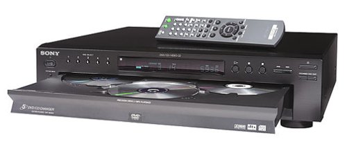 Review SONY DVP-NC615/B 5-Disc DVD Changer