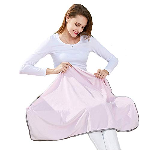 KangHan Anti-Radiation Silver Fiber Blanket Clothing Maternity Clothing Cover Blanket Baby Protection Adult Blanket Maternity Apron 90 * 72Cm