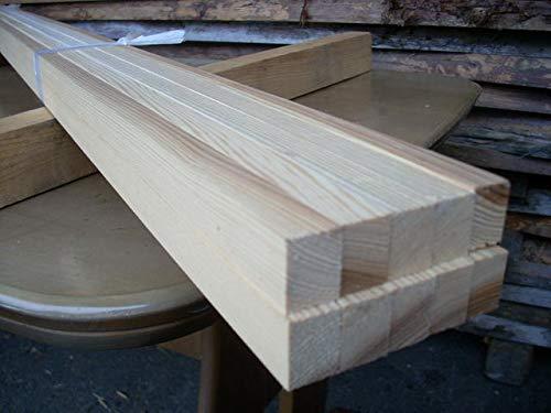 国産杉(日田杉) 角材 無垢材 長さ90cm厚み1.7cm幅2.2cm 20本入り