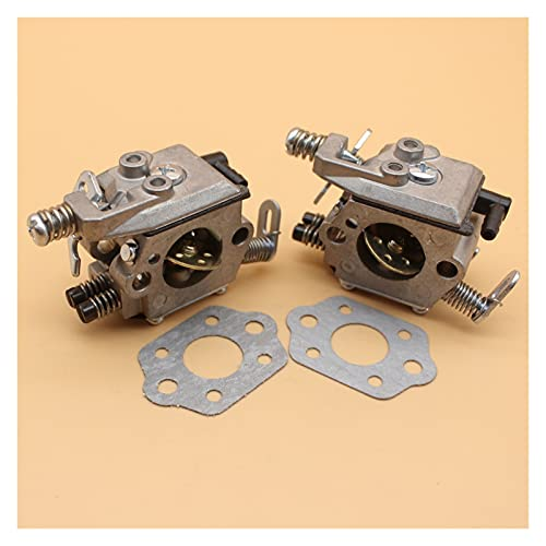 2pcs / lot carburador de carburador para S-TIHL MS180 MS170 018 017 Piezas de motosierra Reemplazo de Walbro Carber