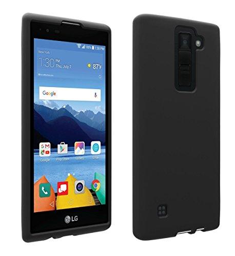 Verizon OEM Matte Silicone Cover for LG K8 V - Black