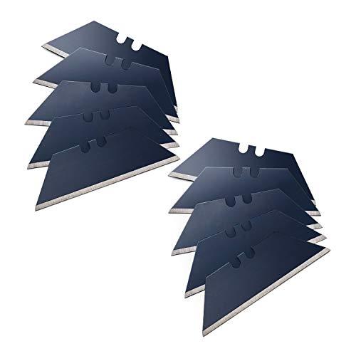 SolidWork Trapezklingen - Ersatzklingen für Cuttermesser - ultrascharfe Klingen für Teppichmesser, Cutter etc.