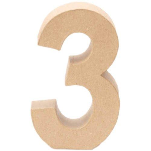 Creative P - Nombre 3, 17, 5x5, 5cm [Jouet]