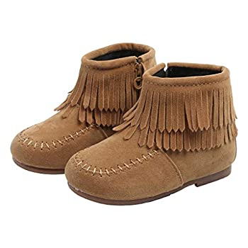 toddler girl moccasin boots
