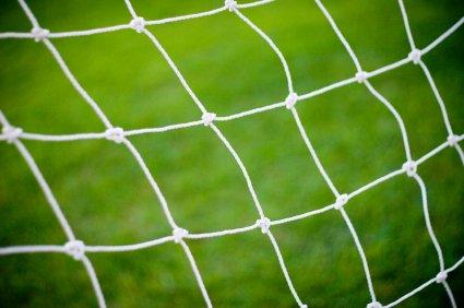 Netsportique Fußballtornetz 3x2m, Fußball Tornetz (Polypropylen, 2mm)