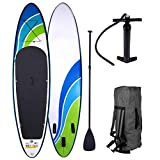 SUP Board Stand up Paddle Paddling Speed 300x76x15cm aufblasbar Alu-Paddel Hochdruck-Pumpe Rucksack Kick-Pad bis 150KG gewebtes Drop Stitch