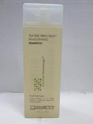 GIOVANNI Organic Tea Tree Triple Treat Shampoo, 227 g – 6 Stück pro Packung