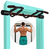 KLL Pull up Bar for Doorway, Multi-Grip Pull-up Bars for Home Gym Exercise, Doorway Pull-up/Chin-up Bar with Upgraded Thickened Steel & 440LBS(180-days Free Return)