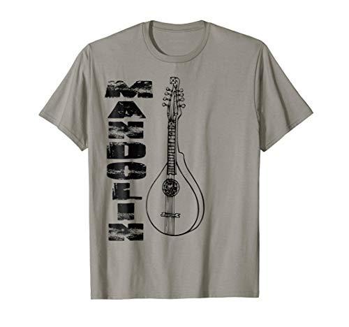Mandolin Music Instrument Art T-shirt Men Women Kids Child