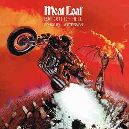 Lost Posters Album Cover Poster Thick Meat LOAF: BAT Out Hell Limited 1977 giclee Record LP Reprint #'d/100!! 12x12