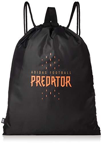 Adidas Predator GS Sporttas, unisex volwassenen, zwart/rood/cobmet, eenheidsmaat