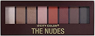 (3 Pack) CITY COLOR The Nudes Eyeshadow Palette (並行輸入品)