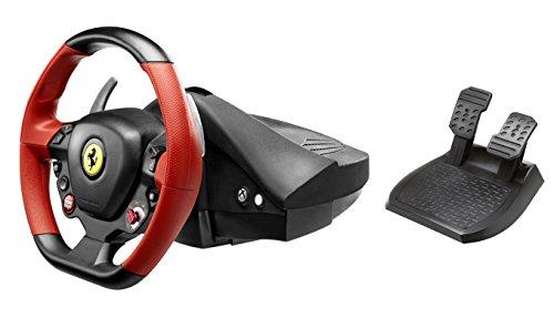 Thrustmaster Ferrari 458 Spider Racing Wheel and The Crew Xbox One Bundle